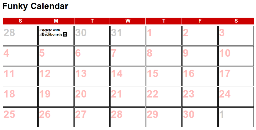 Table Calendar Jquery : Japh r by chris strom interactively adding things with