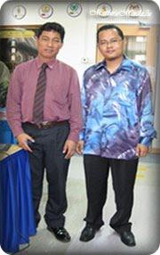 Bersama Pengasas Kaedah Mokhdar En. Mokhtar Hj Mansor