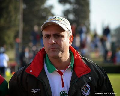 Alejandro Molinuevo, entrenador del seleccionado tucumano