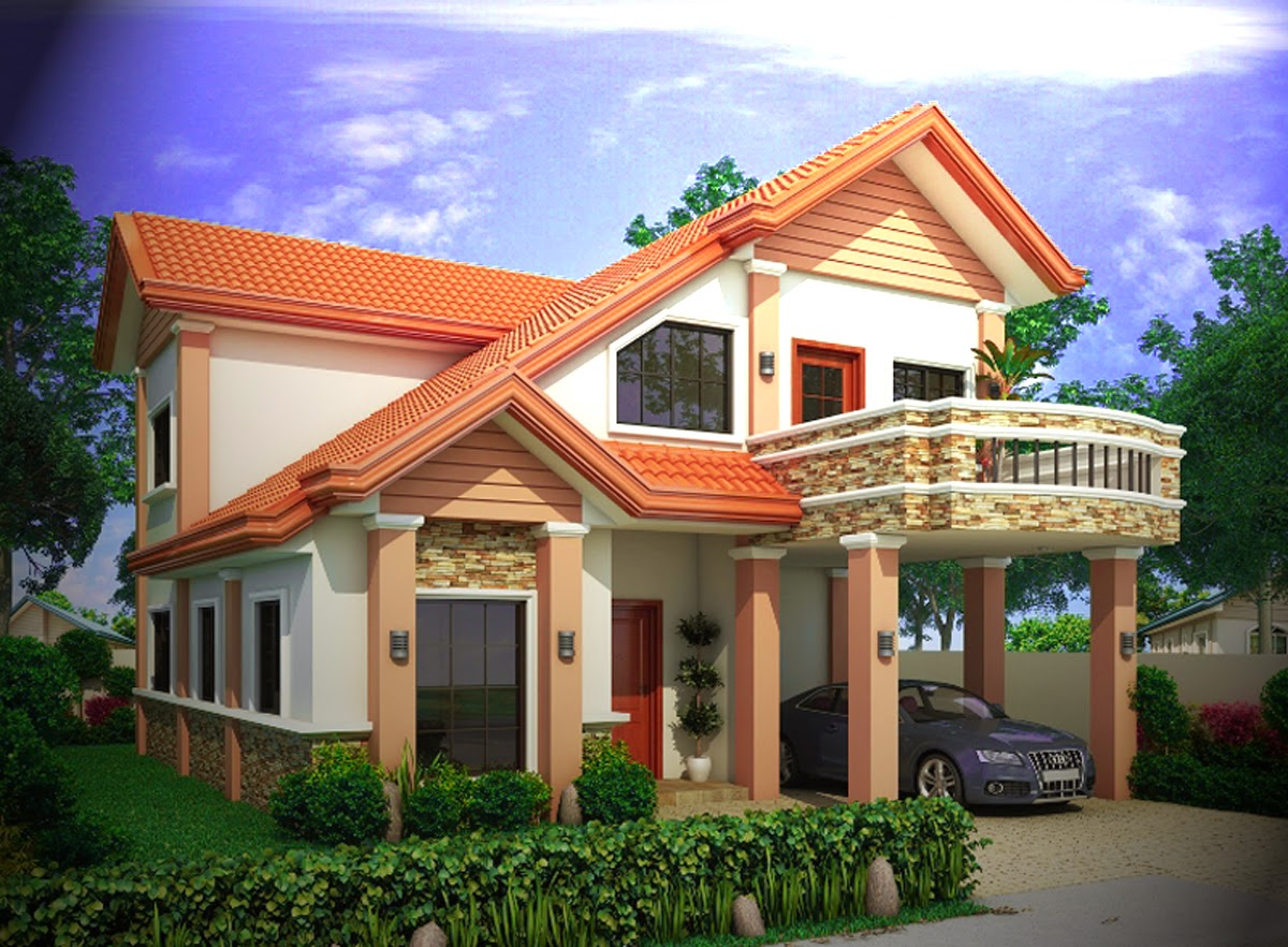 fasad desain rumah minimalis sederhana