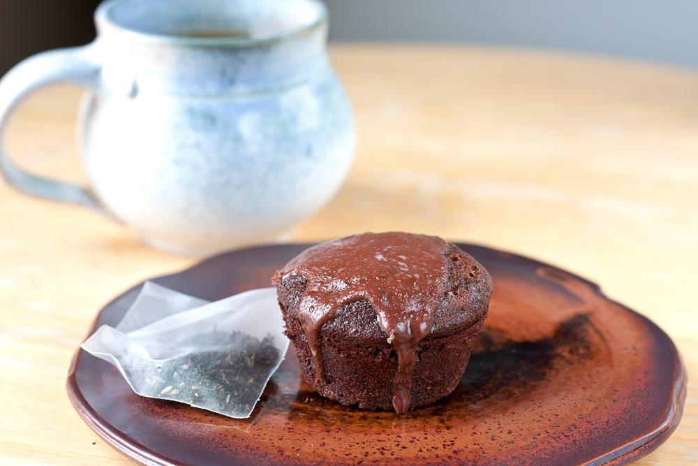 Muffin Tin Mania: Earl Grey Chocolate Cakes