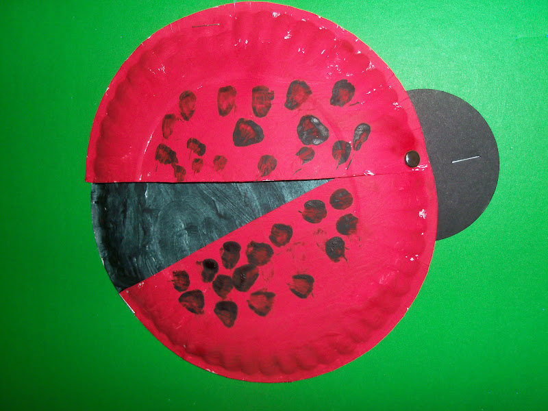 The Thoughtful Spot Day Care Paper Plate Ladybug
