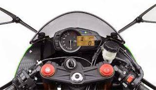 speedometer zx-6r 2015