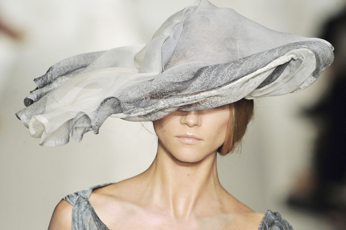 via fashioned by love | Anya Caliendo | Couture Millinery | Donna Karan Spring/Summer 2010