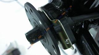 Montaje del sensor de pedaleo  PAS SANY0245