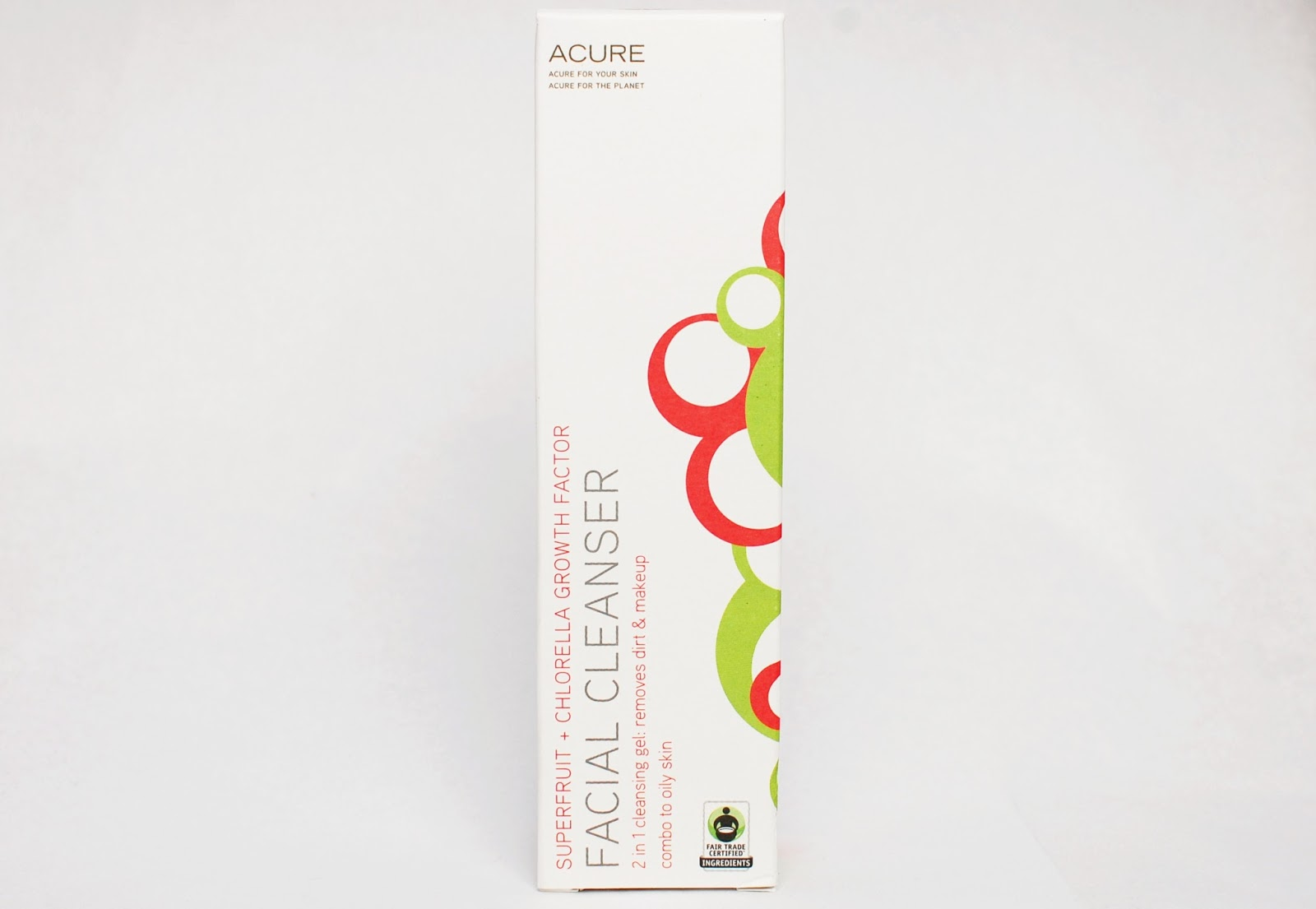 Acure Facial Cleanser Superfruit + Chlorella Growth Factor