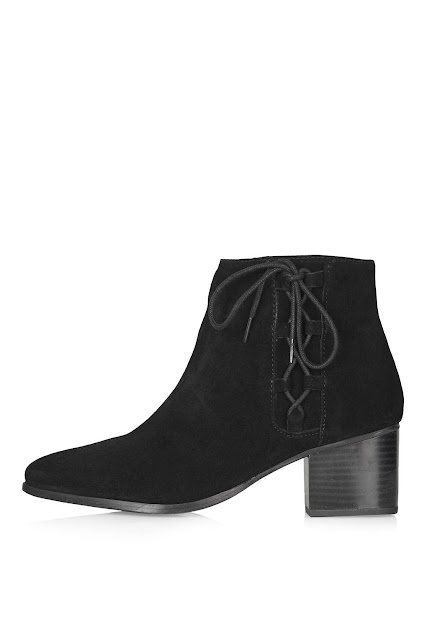 ankle boot side lace, ghillie boots,