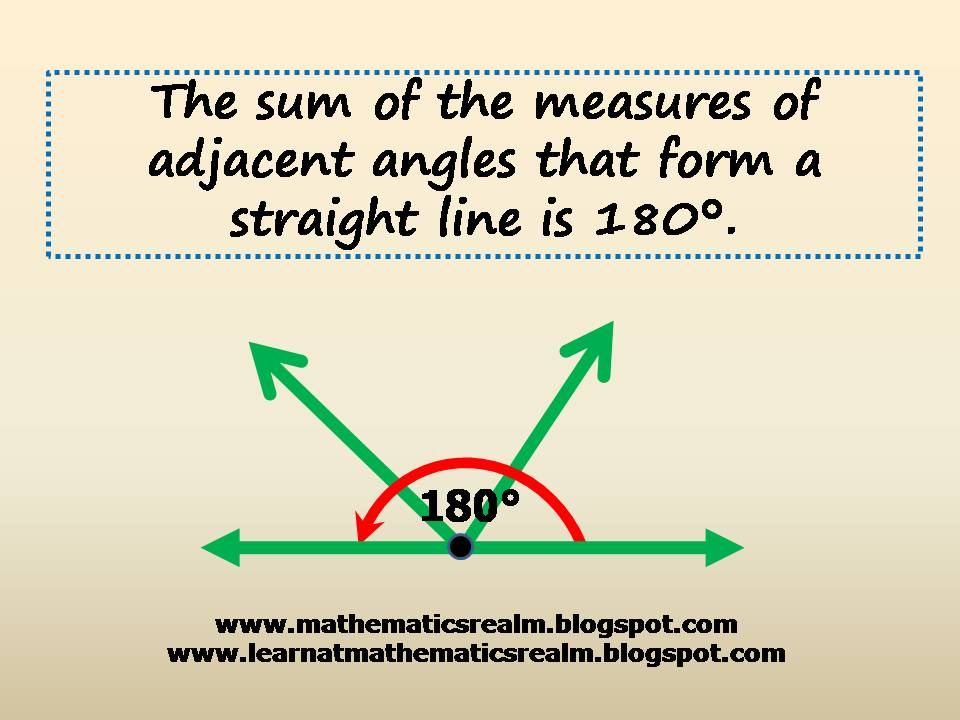 mathematics,geometry,angles,straight lines,supplementary angles,180 degrees,IGCSE