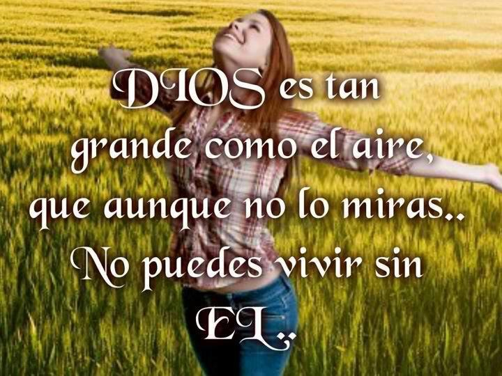 Dios es grande