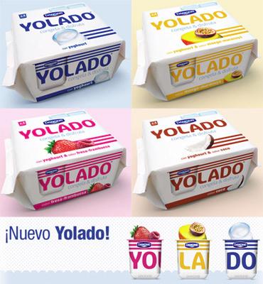 Yolado de Danone yogurt helado