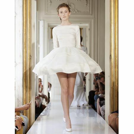 collection robe de mariée delphine manivet robe courte style haute couture