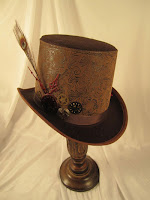 Embossed Steampunk Hat present