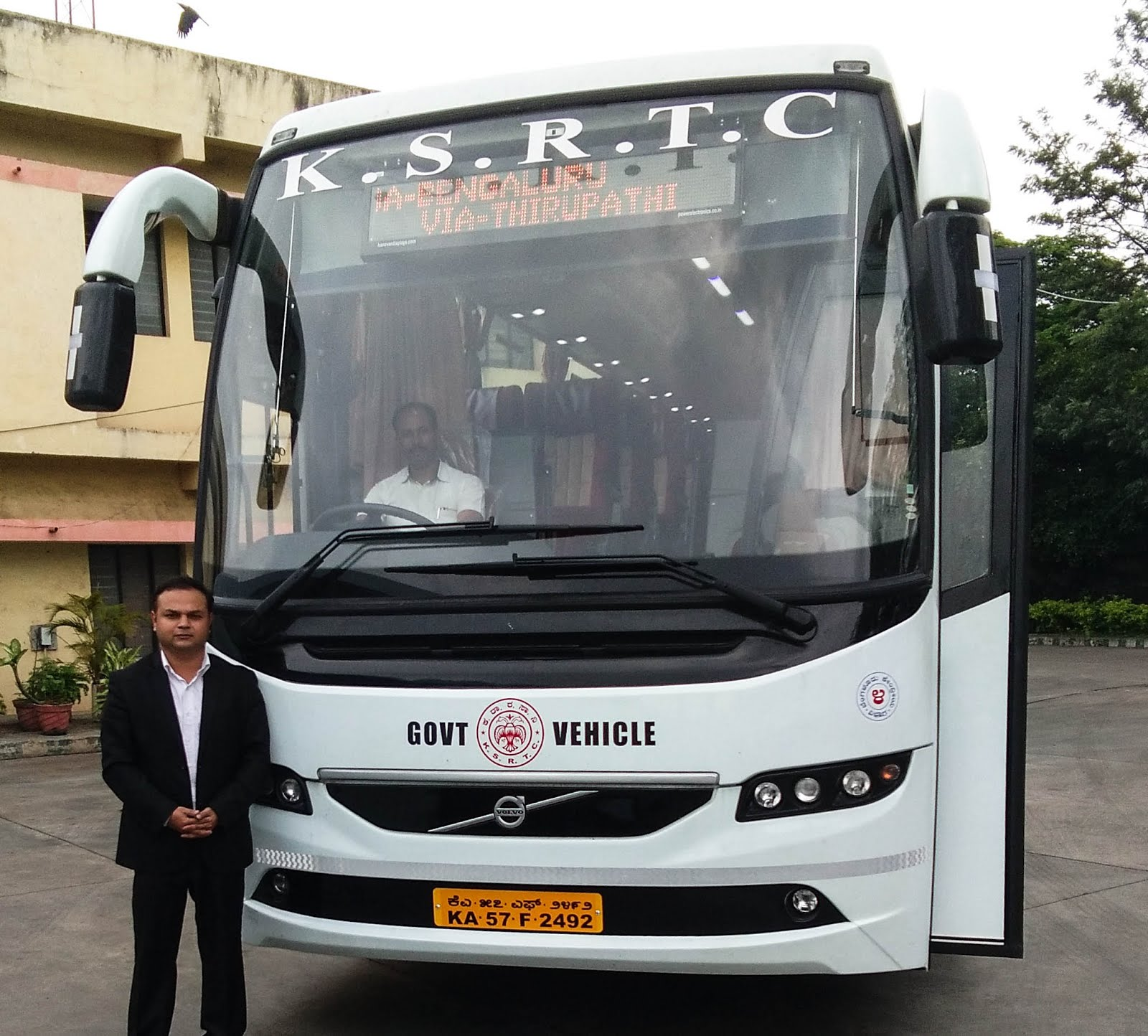 KSRTC VOLVO B11R I-SHIFT