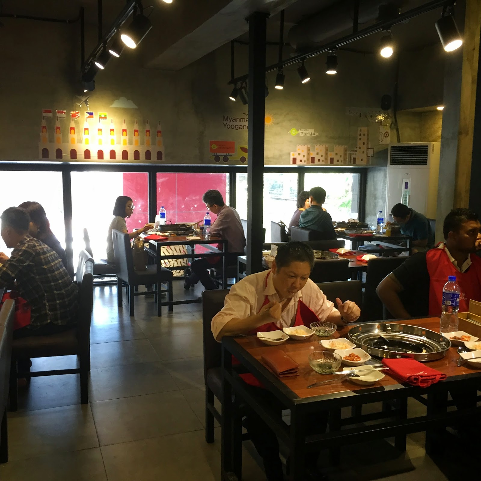 Doggyjames says yoogane korean restaurant yangon