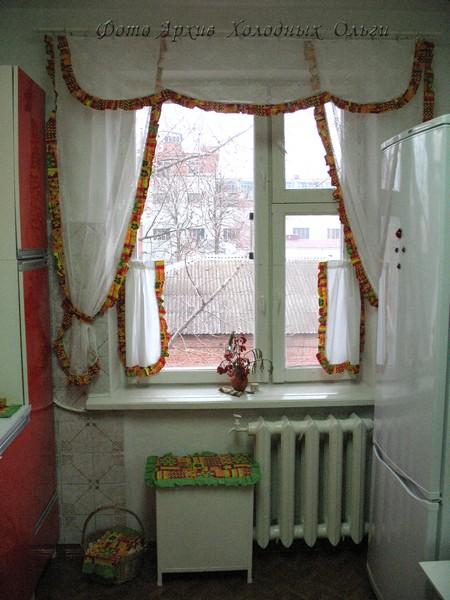 Кухня окно