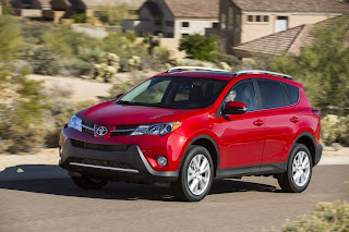 Pictures and Review 2013 Toyota RAV4 SUV