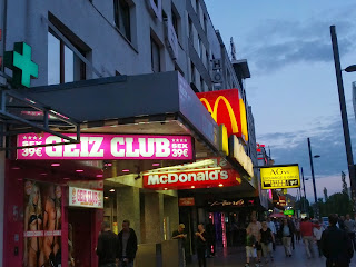 Sex club on the Reeperbahn