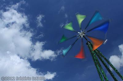 éolienne cerf volant fête vent spectacle Brie Comte Robert Seine et Marne