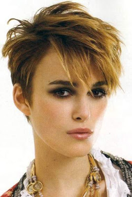 Keira Knightley short hair styles