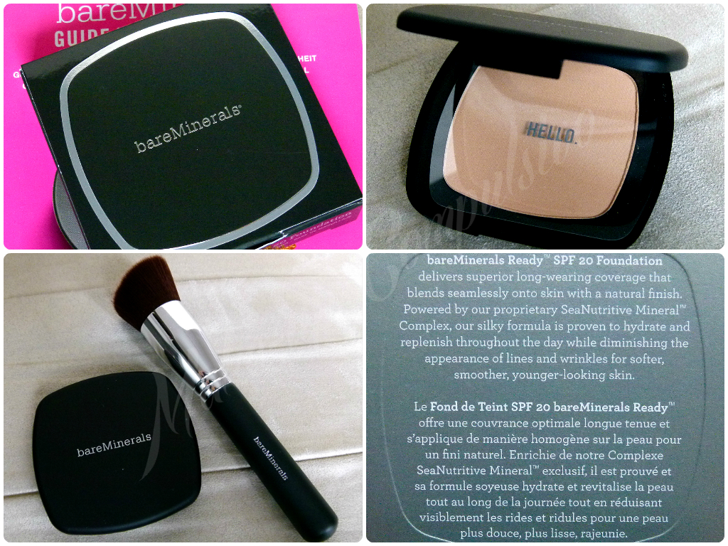 BareMinerals fondotinta compatto della linea Ready: review