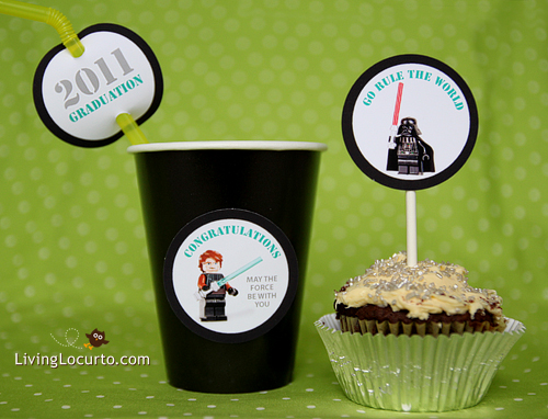 Free Star Wars Graduation Printables from Living Locurto title=