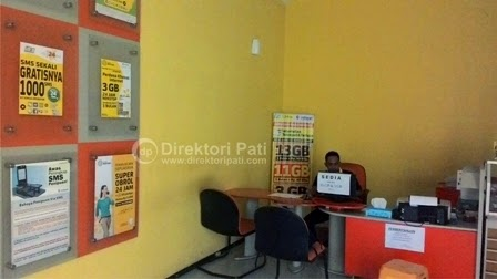 Gerai Galeri Indosat Center Pati