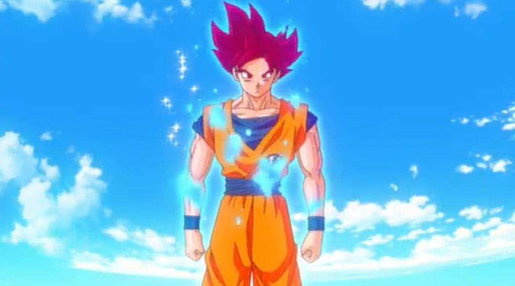 Son Goku Super super saiyan god