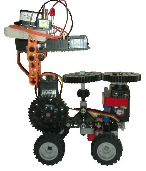 Robot arduino scratch s a lego technic