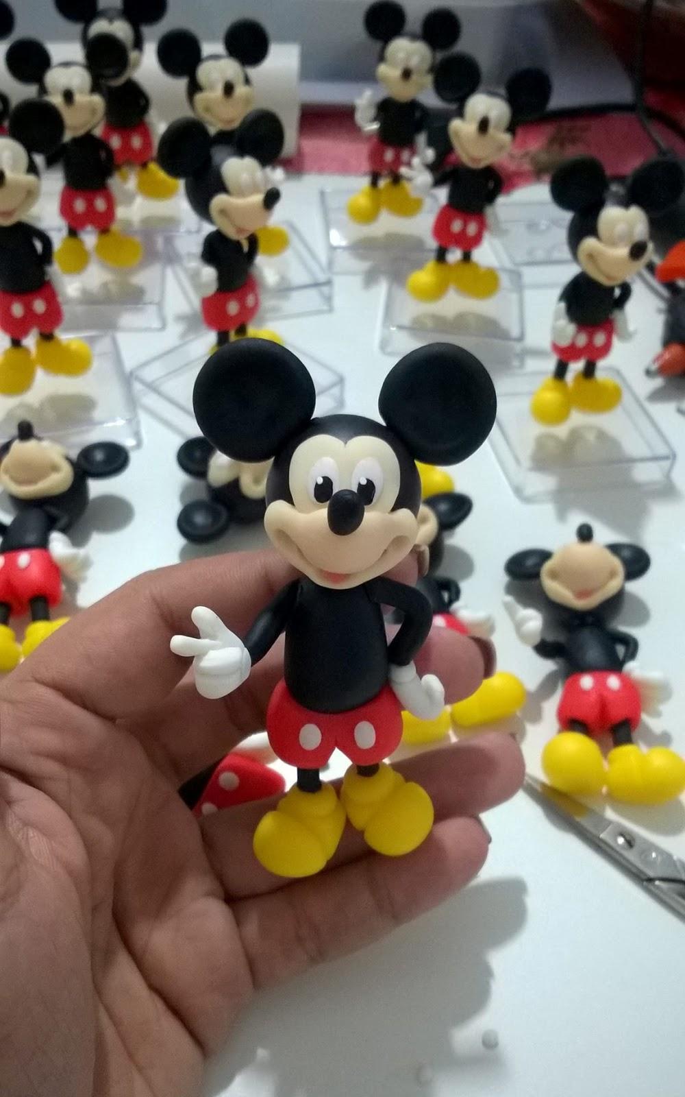 Artesanato Brasil Maringa ~ Ana Biscuit Artesanato em Biscuit S u00e3o Gonçalo, Niterói e Rio de Janeiro Mickey de biscuit