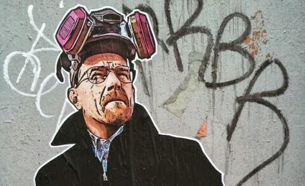 Arte urbano: Breaking Bad