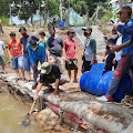 Peduli Lingkungan, Poktan GSBR Maanfatkan Irigasi untuk Budidaya Ikan