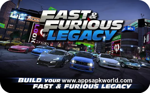 Fast & Furious Legacy Apk + Data