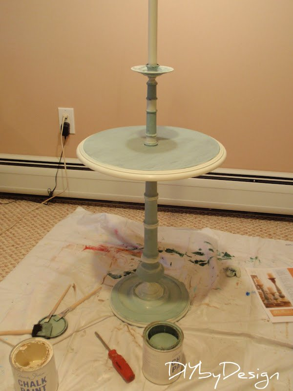 Diy by design floor lamp makeover for Floor lamp makeover ideas