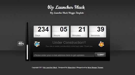 WP Launcher Black