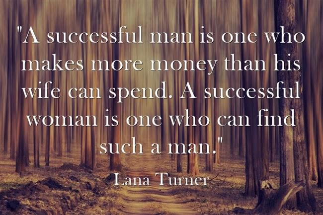 Đàn ông thành công là người kiếm được nhiều tiền hơn vợ chi tiêu