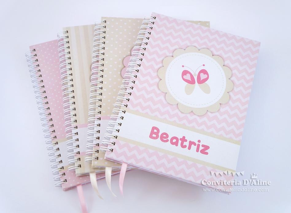 caderno personalizado maternidade