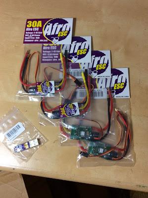 variadores Afro esc multicoptero