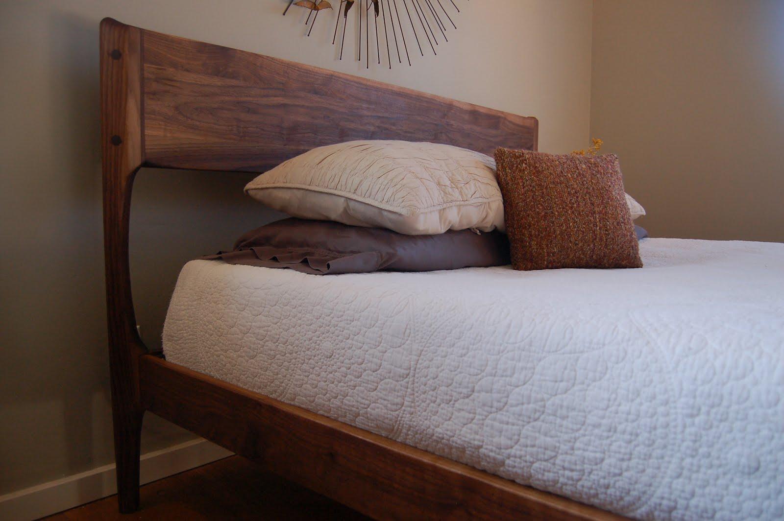 Danish Modern Style Bed Version 2 0