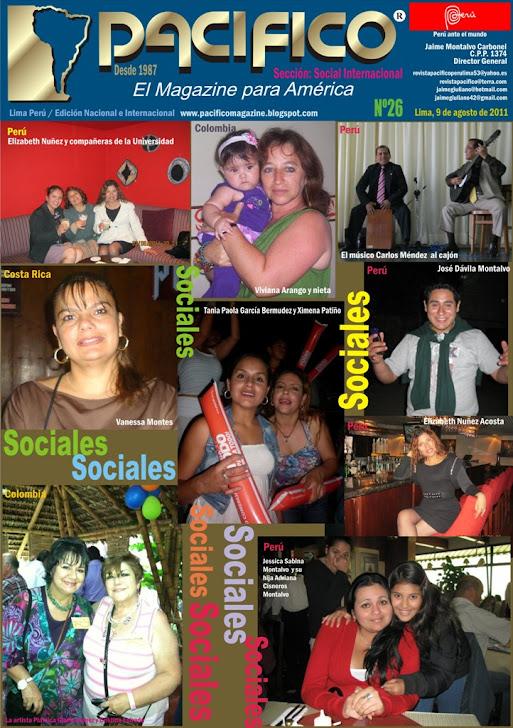 Revista Pacífico Nº 26 Social Internacional