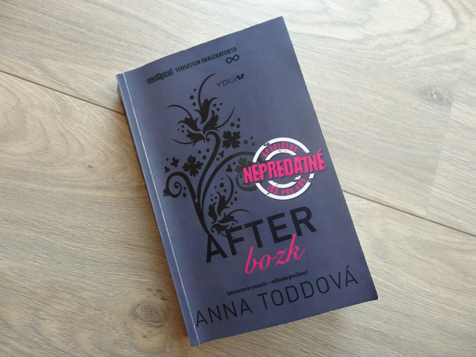 Paperback  After – Bozk (Anna Toddová)  aeb535da186