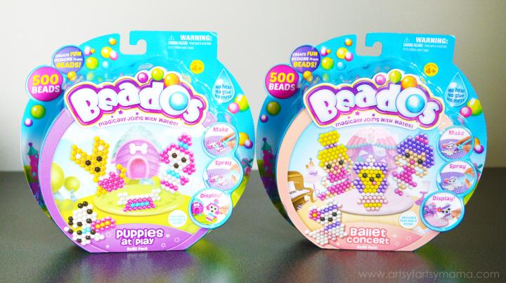 Beados Refill Packs at artsyfartsymama.com #Beados #kidscrafts