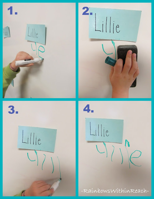 photo of: Preschool Handwriting, Fine motor in preschool
