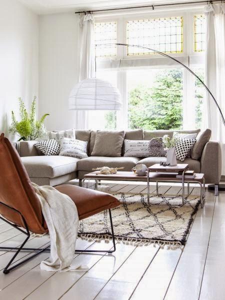 sofas grises modernos