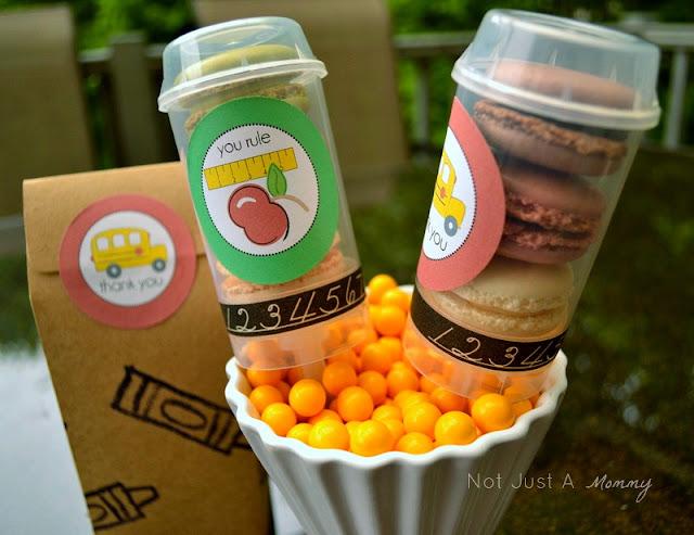 Trader Joe macarons push pop containers