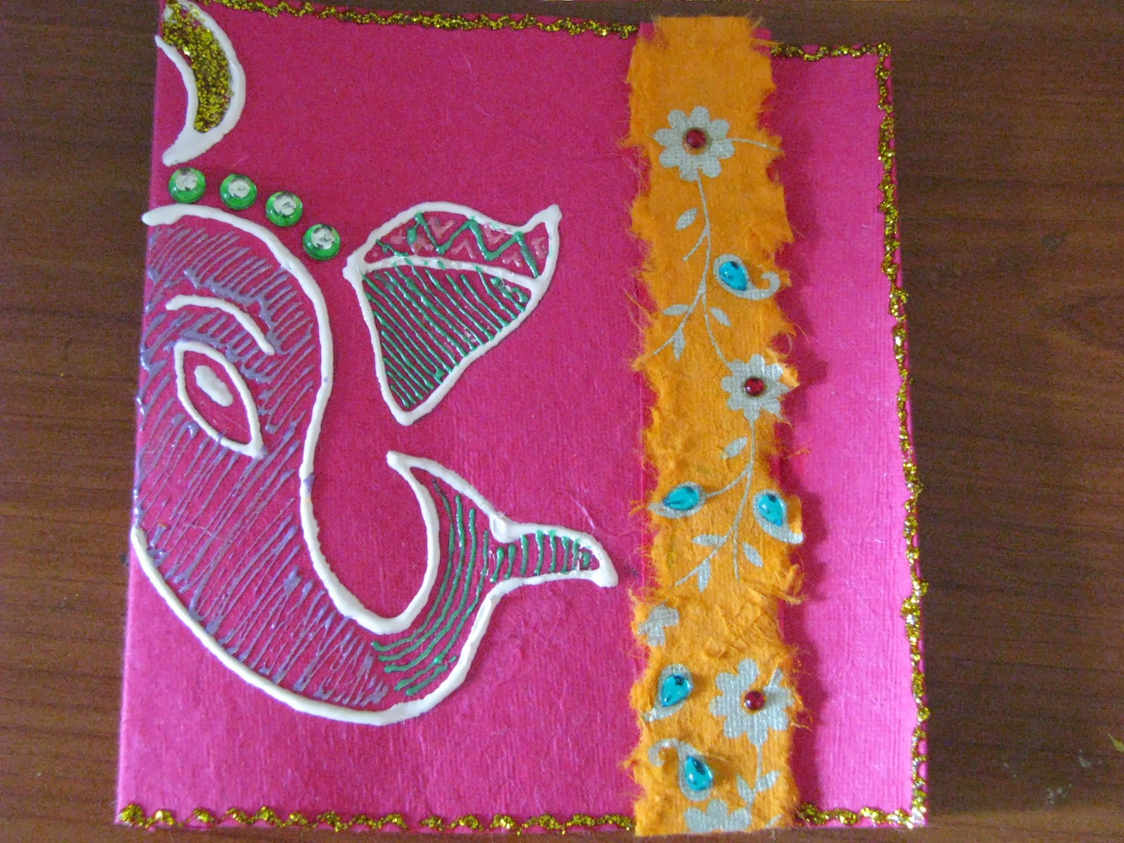 Handmade Diwali Greeting Cards Assorted Payal Mithal