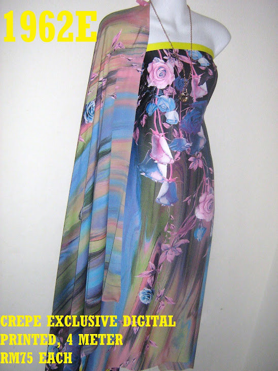 CDP 1962E: CREPE EXCLUSIVE DIGITAL PRINTED, 4 METER