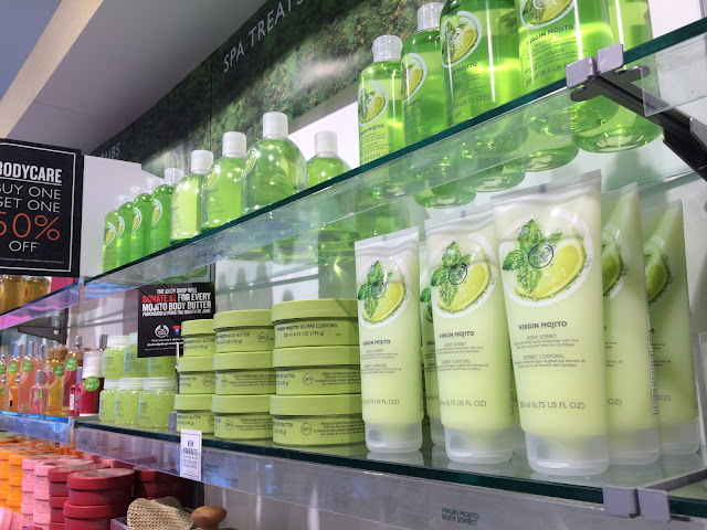 The Body Shop Middlesbrough Seize the Summer Virgin Mojito