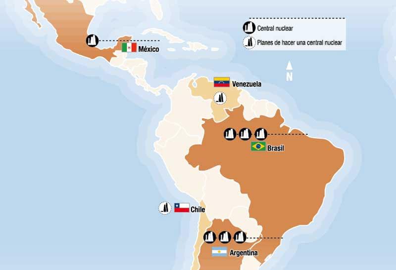 En el mundo hay 439 reactores nucleares que actualmente funcionan en