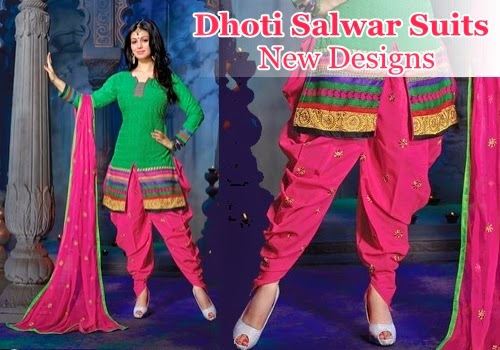 Dhoti Salwar Suits Designs