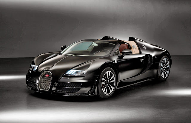 Bugatti Veyron Grand Sport Vitesse Jean Bugatti: The Latest Bugatti Legends Car Is a Voiture Noir